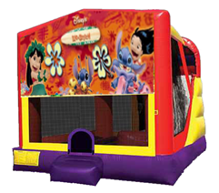 Lilo & Stitch Bounce House Combo 4n1