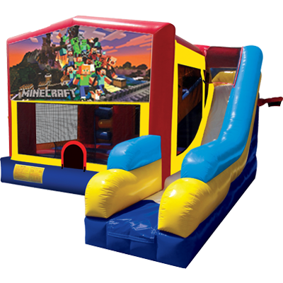 Minecraft Bounce House Combo 7n1