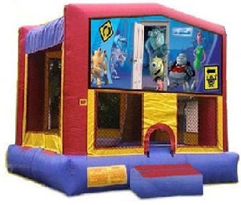 Monsters Inc. Bounce House Combo 4n1