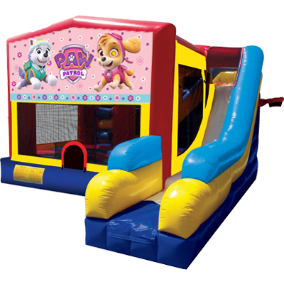 Paw Patrol Girls Bounce House Combo 7n1