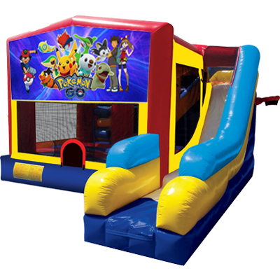 Pokemon Bounce House Combo 7n1