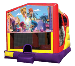 Shimmer and Shine Bounce House Combo 4n1