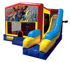 Superman Bounce House Combo 7n1