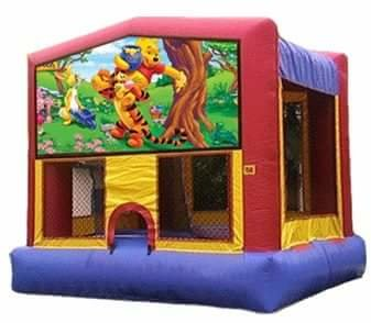 Winnie the Pooh Bounce House Combo 4n1