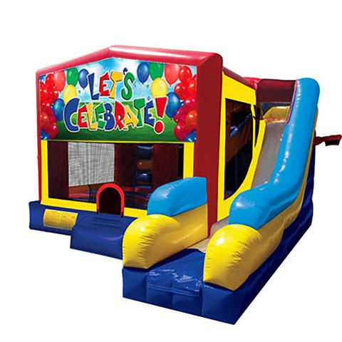 Lets Celebrate Bounce House Combo 7n1