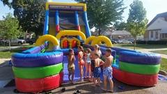 22'ft Vertical Rush Dual Lane Waterslide                   FULL DAY Rental