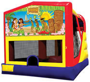 4n1 Luau Bounce House Combo