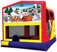 4n1 Christmas Bounce House Combo