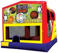 4n1 Sports Bounce House Combo