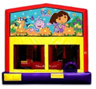 4n1 Dora the Explorer Bounce House Combo