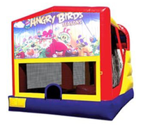 4n1 Angry Birds Bounce House Combo