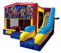 Justice League Bounce House Combo 7n1