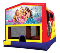 4n1 Barbie Bounce House Combo
