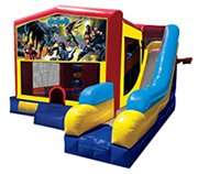 Batman Bounce House Combo 7n1