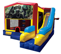 Black Panther Bounce House Combo 7n1