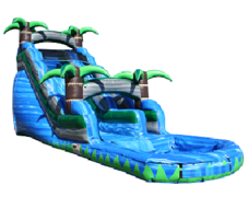 20Ft. Blue Crush Water Slide