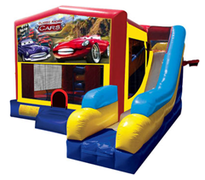 Cars Bounce House Combo 7n1