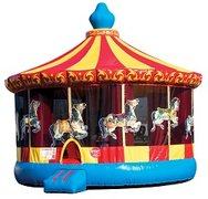 XXL Carousel Bounce House