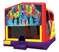 4n1 Congratulations Bounce House Combo
