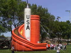 36ft. USA Rocket Slide
