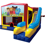 Daniel Tiger Bounce House Combo 7n1