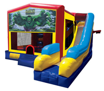Hulk Bounce House Combo 7n1