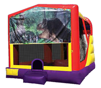 4n1 Jurrassic Park Bounce House Combo