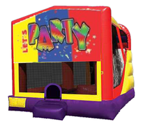 4n1 Lets Party Bounce House Combo