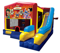 Lilo & Stitch Bounce House Combo 7n1