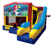 Little Mermaid Bounce House Combo 7n1