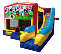 Mickey Mouse Bounce House Combo 7n1