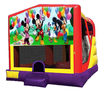 4n1 Mickey Mouse Bounce House Combo