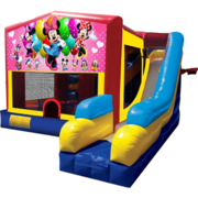 Minnie Mouse Bounce House Combo 7n1