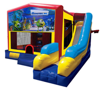 Monsters Inc Bounce House Combo 7n1