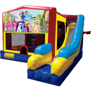 My Little Pony Bounce House Combo 7n1