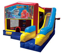 Finding Nemo Bounce House Combo 7n1