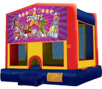 SportsGirls Bounce House