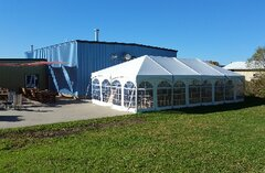 20 X 50 Kedered Frame Tents