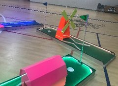 LED 3 Hole Mini Golf Challenge