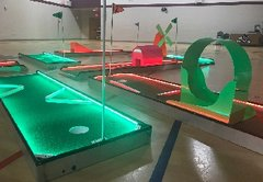 LED 6 Hole Mini Golf Challenge