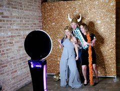 Photo Booth and Backdrop Package