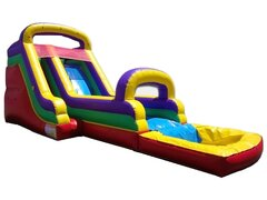 14ft. Rainbow Backyard Water Slide