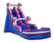 American Knockout Water Slide