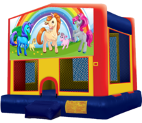 Unicorn #2 Bounce House