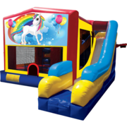Girl Thing Bounce House #1 Combo 7n1