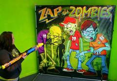 Zap the Zombies Frame Game