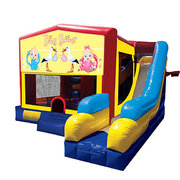 Baby Shower Bounce House Combo 7n1