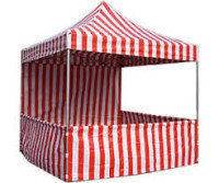 Carnival Tent 10ft. X 10ft. Booth