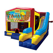 Luau Bounce House Combo 7n1