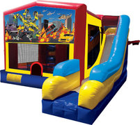 Transformers Bounce House Combo 7n1
